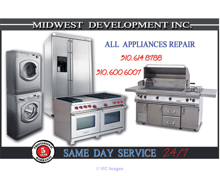 Range/Cook top, Gas/Electric Oven,Stove repair in GArdena losangeles