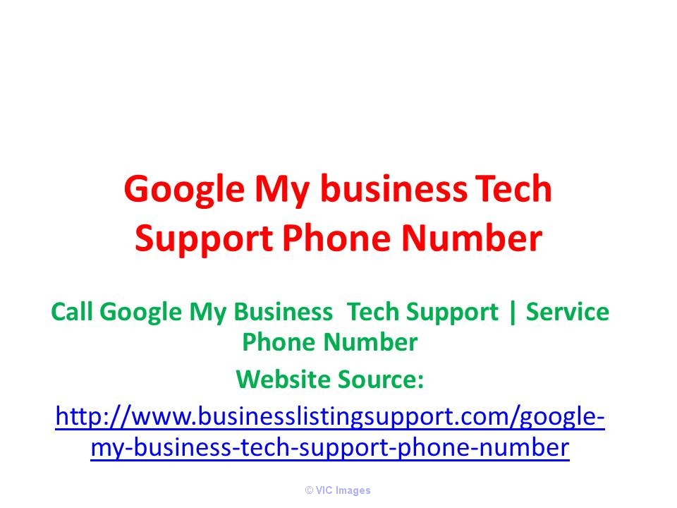 Need Google My Business Tech Support Phone Number? losangeles
